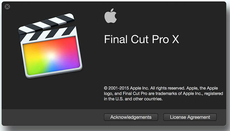 Apple Final Cut Pro X 10.3.3