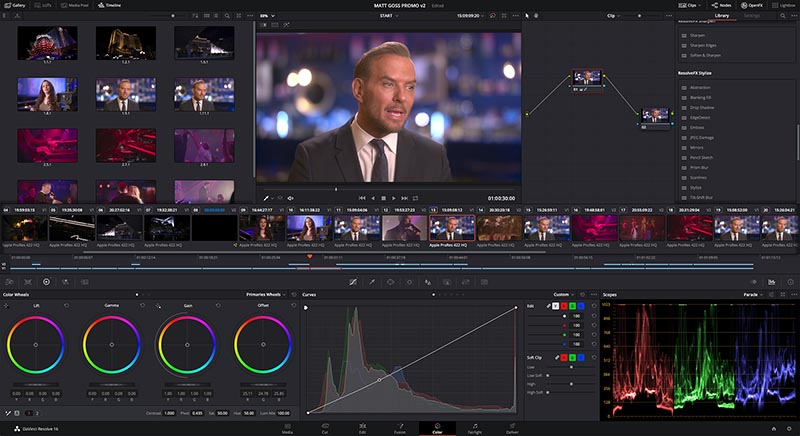 Blackmagic Design DaVinci Resolve 16