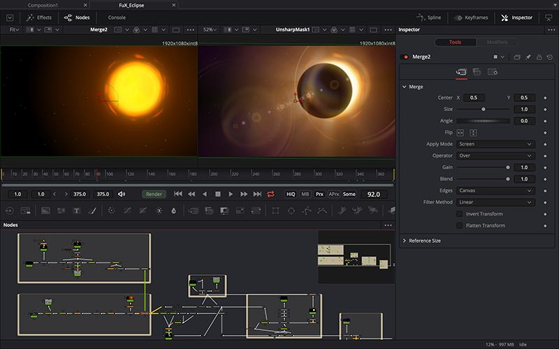 Blackmagic Design Fusion 16 Studio